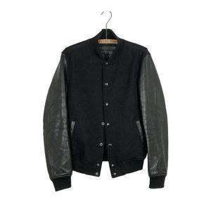 Danier Leather Bomber Black Jacket